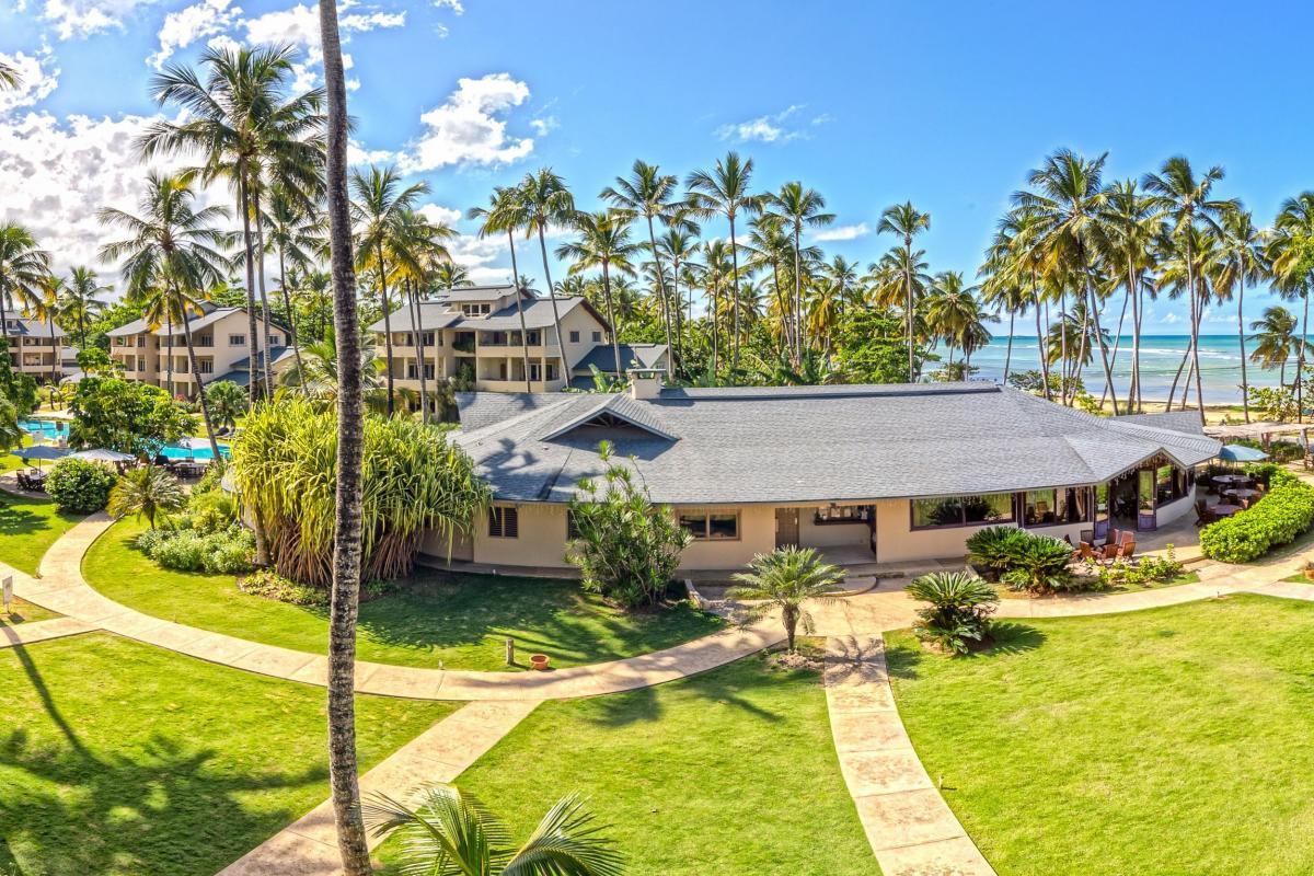 Hotel de luxe front de mer Alizei République Dominicaine Vue panoramique