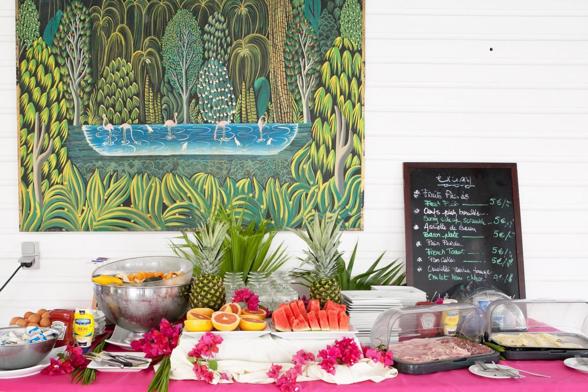Hôtel La Plantation - Buffet petit déjeuner
