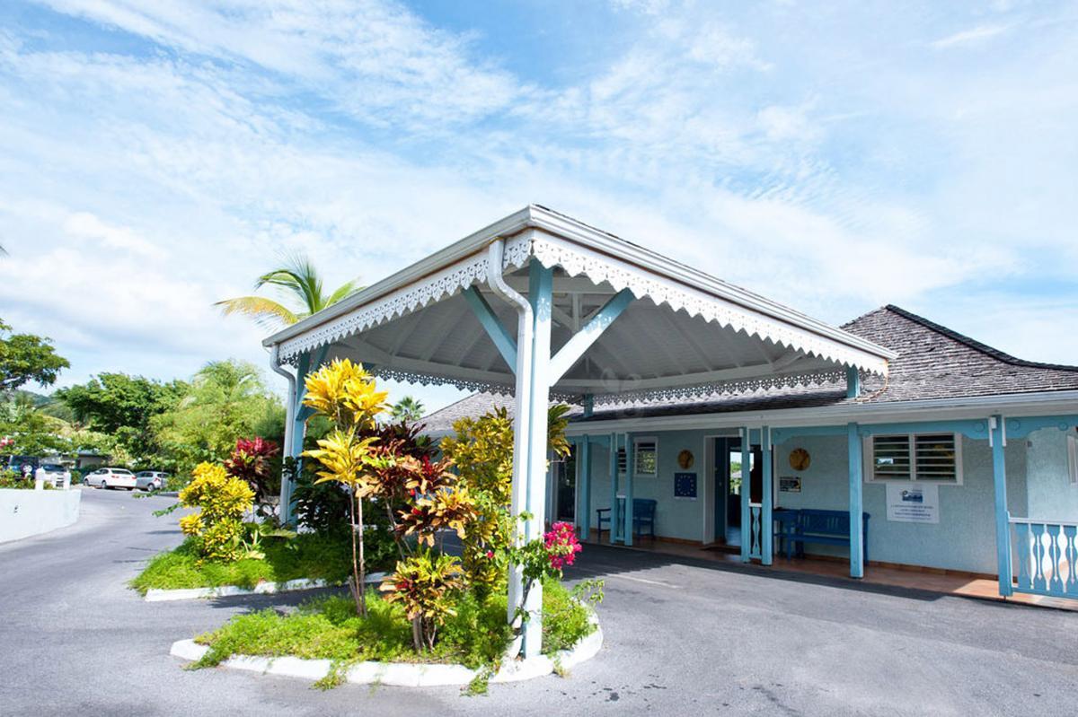 Hôtel La Plantation - Entrée de la réception