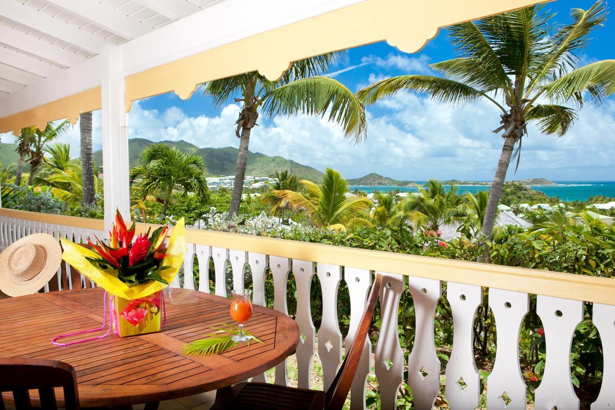 Hôtel La Plantation - Terrasse vue mer Suite