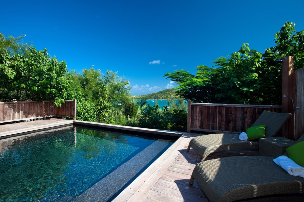 Hotel Karibuni Lodge - Piscine vue mer Suite Premium
