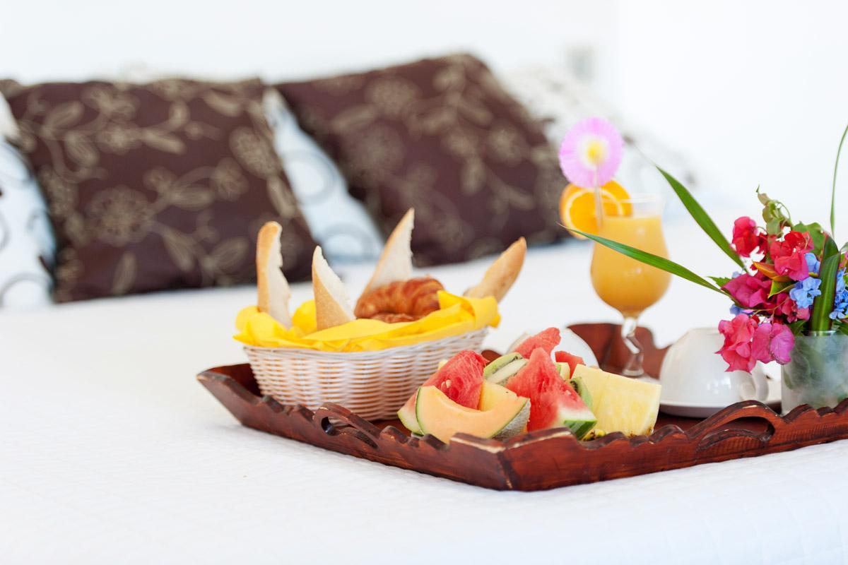 Marquis Hôtel Boutique - Petit Déjeuner en chambre