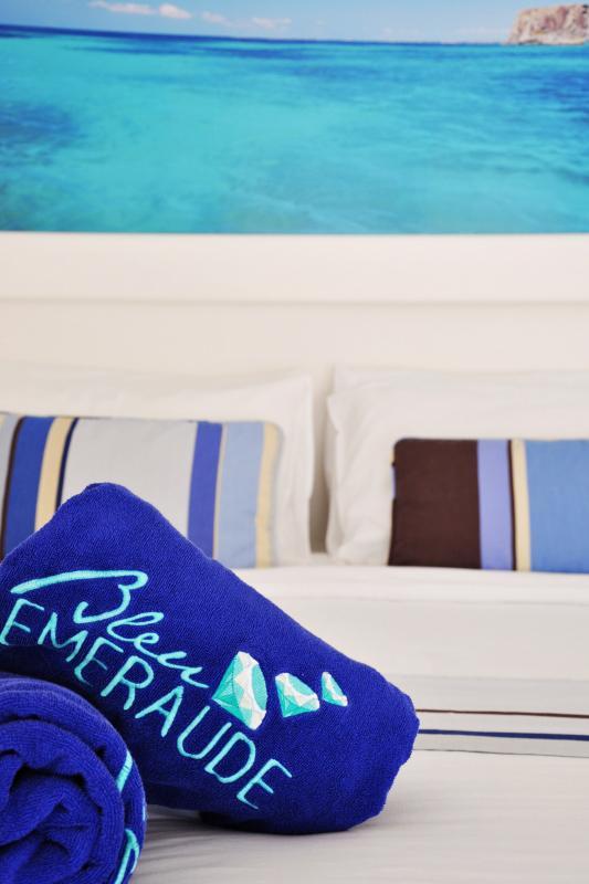 Bleu Emeraude - Chambre  appartement 1 chambre