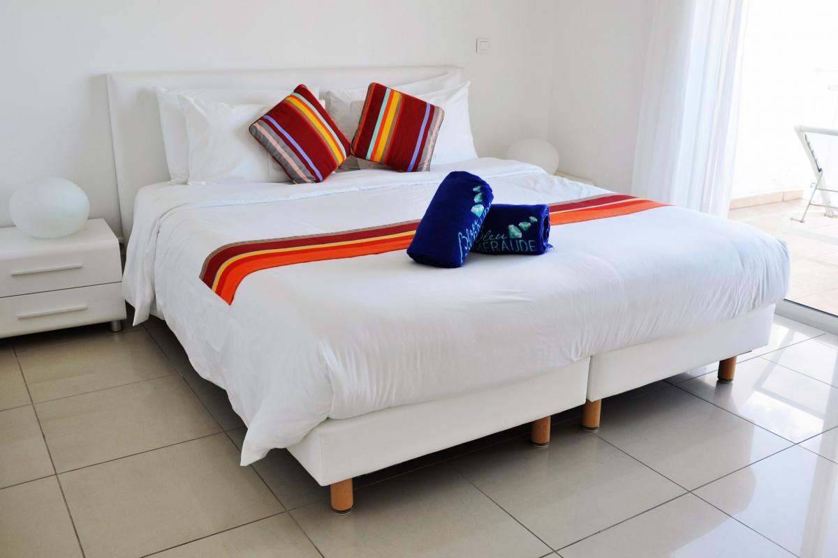 Bleu Emeraude - Chambre appartement 2 chambres