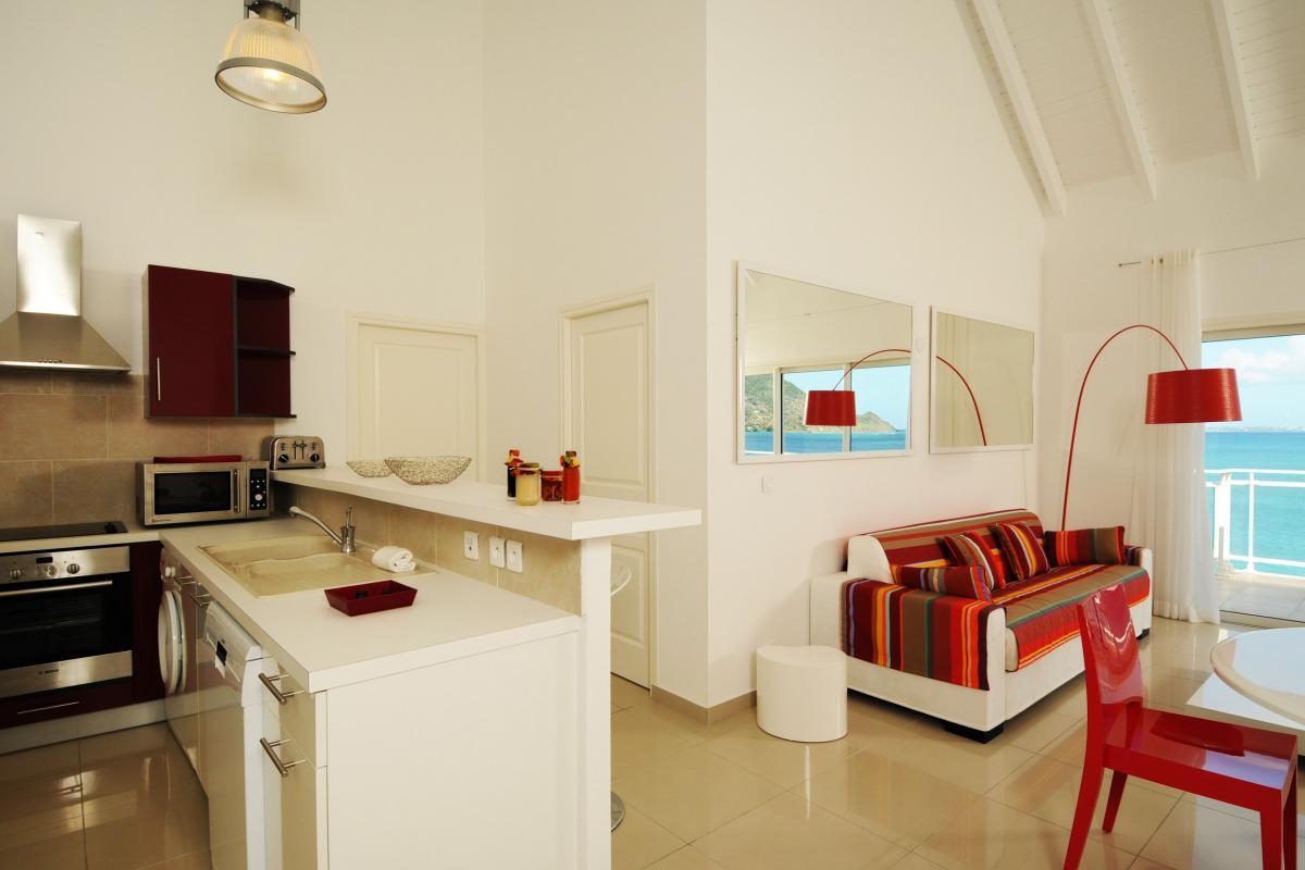 Bleu Emeraude - Vue d'ensemble appartement 2 chambres