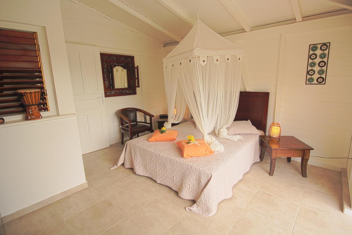 Location Villa Vue Mer Deshaies - Chambre 2