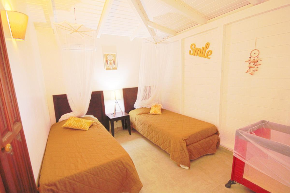 Location Villa Vue Mer Deshaies - Chambre 3