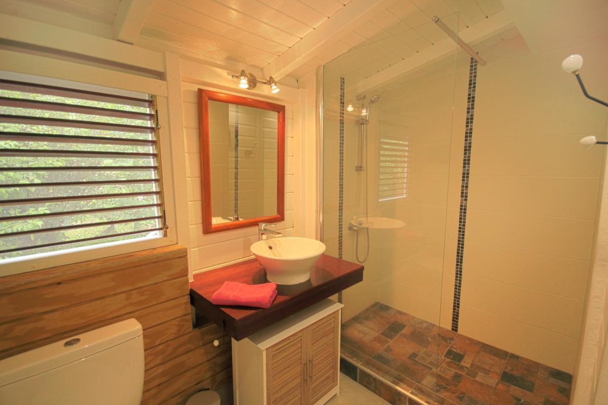 Location Villa Vue Mer Deshaies - La suite sdd