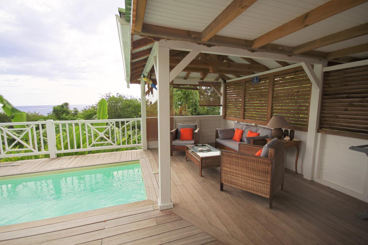 Location Villa Vue Mer Deshaies - le carbet