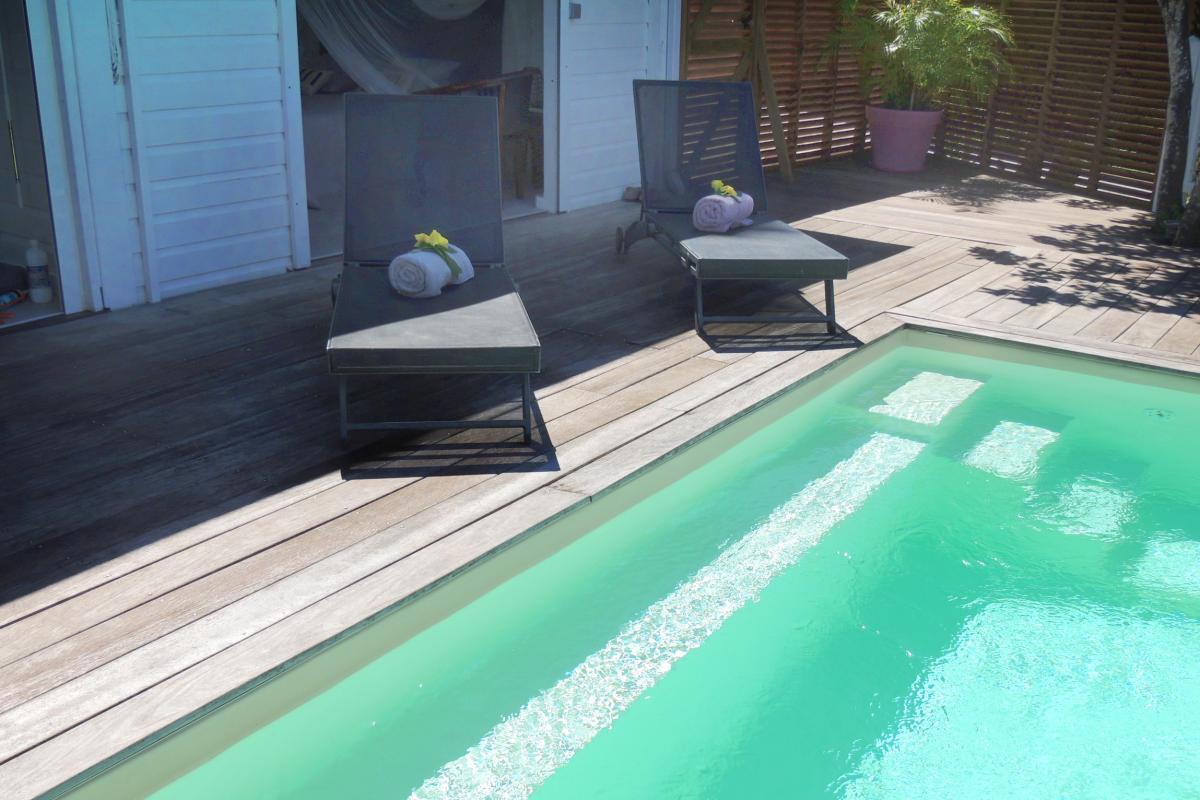 Location Villa Vue Mer Deshaies - Piscine