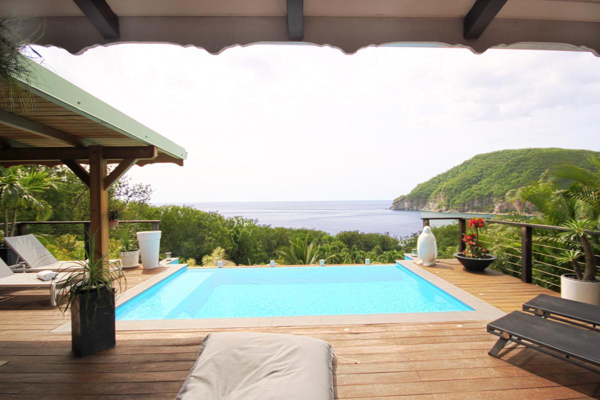 Location villa de charme à Dehaies - piscine