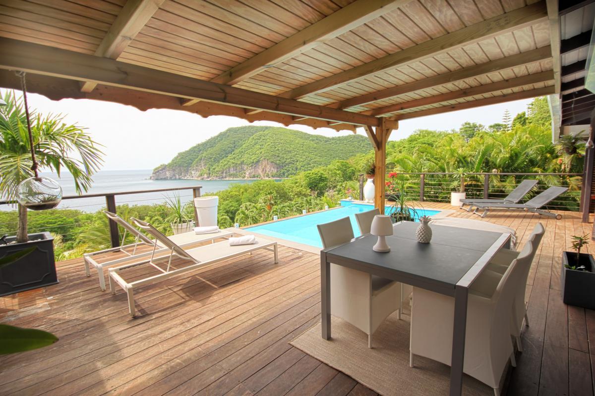 Location villa de charme à Dehaies - terrasse