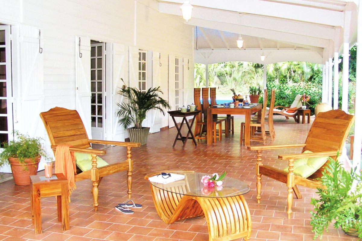 Location villa 100m de la plage - La terrasse