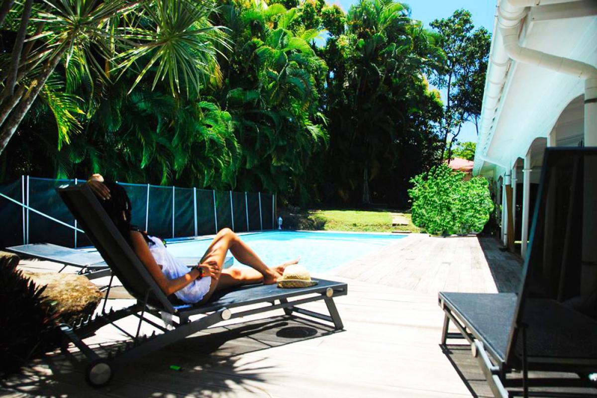 Location villa 100m de la plage - piscine