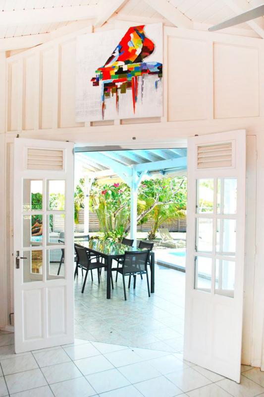 Location villa à 100m de la plage - Salle à manger