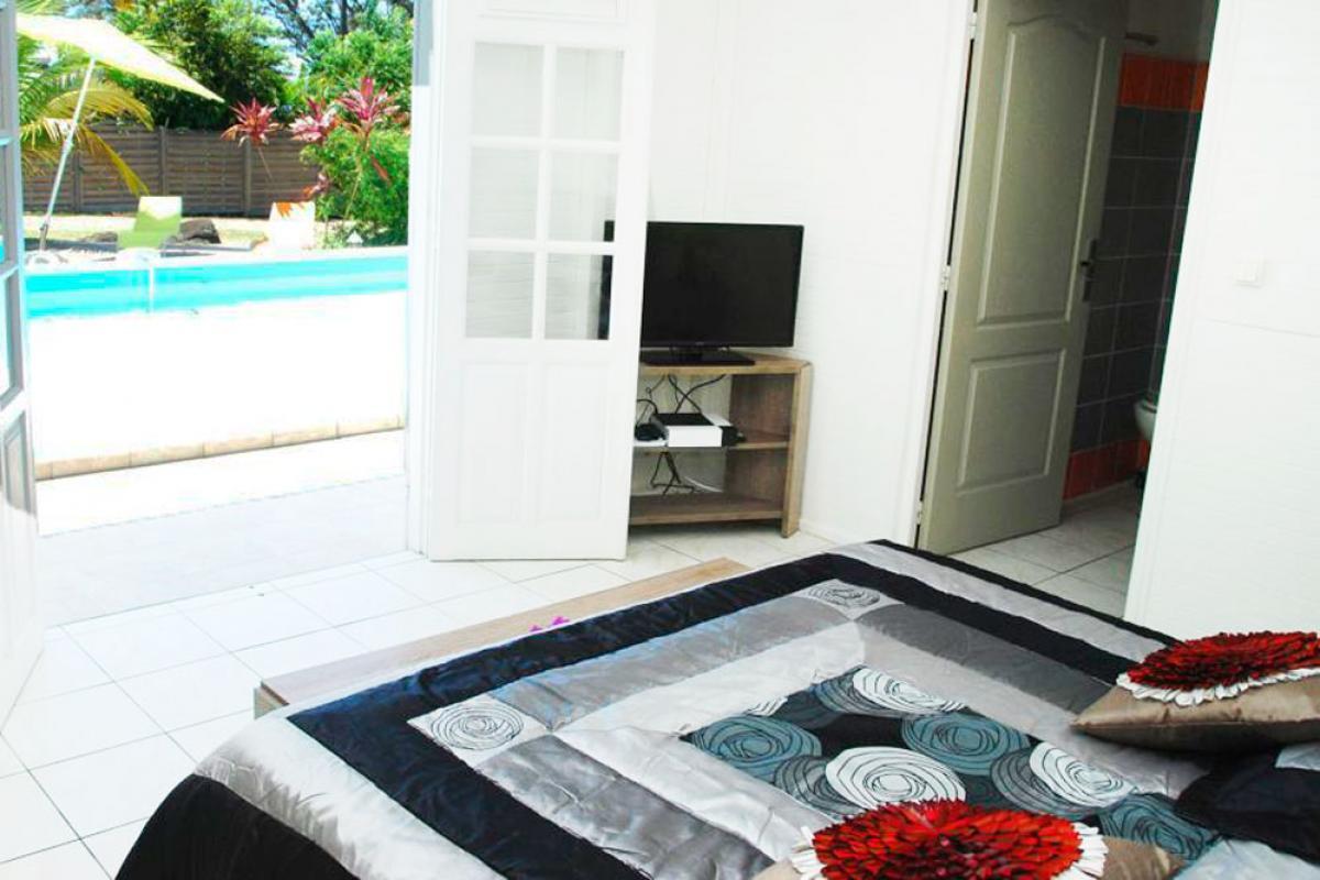 Location villa à 100m de la plage - Suite mandarine