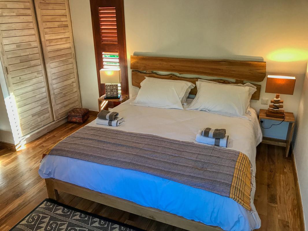 Villa à louer en Guadeloupe piscine et vue sur la mer - Bungalow la Chambre