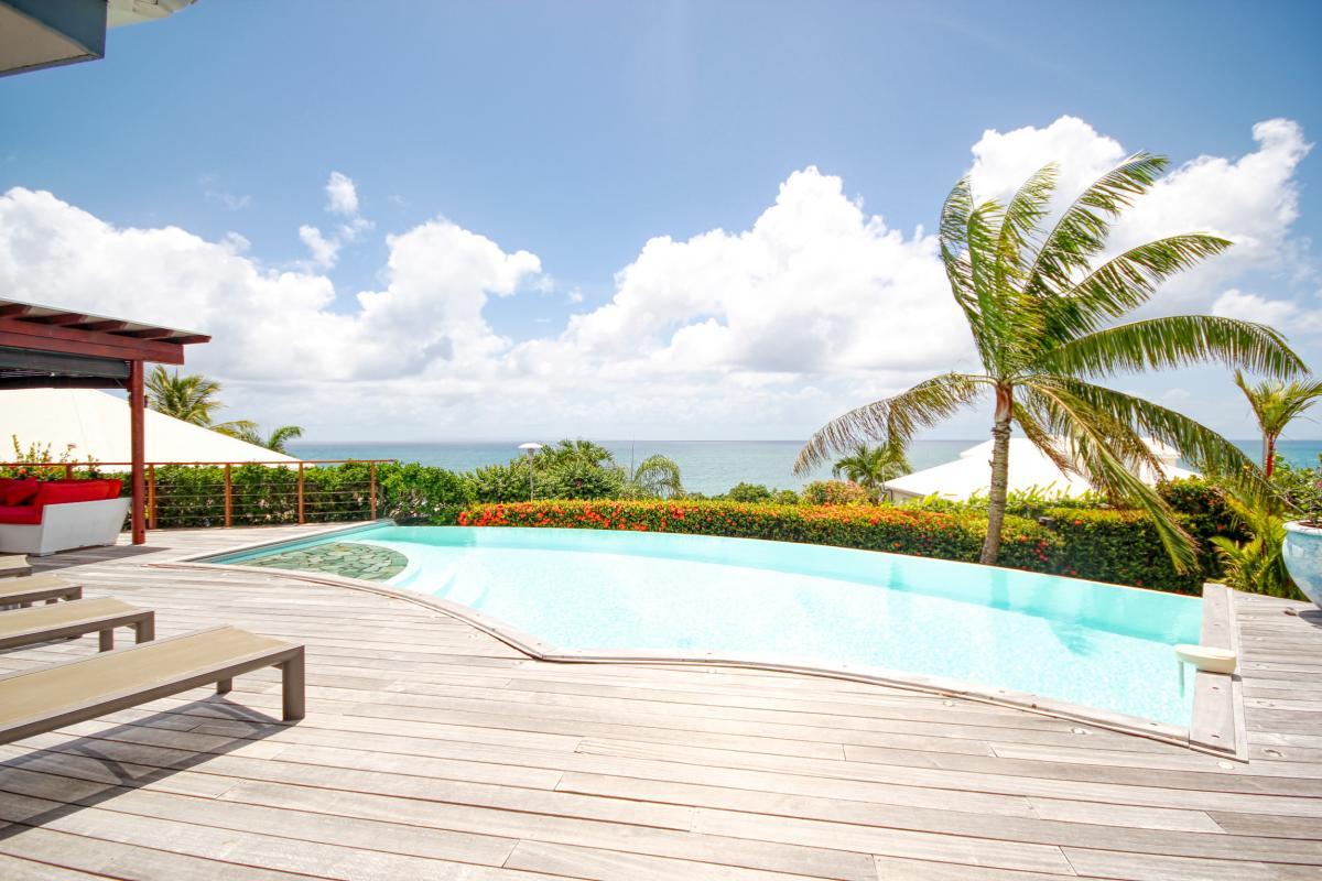 Location villa prestige Sainte Anne Guadeloupe