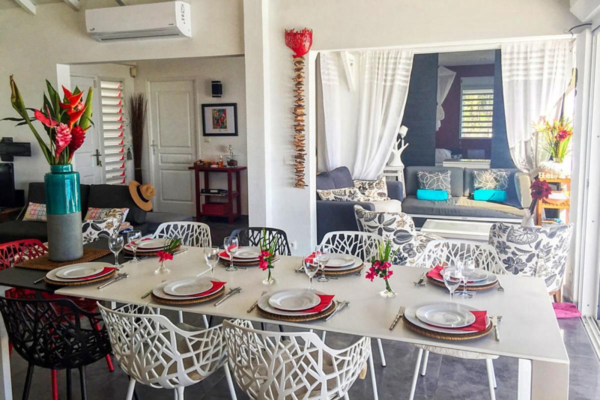 Location villa de luxe en Guadeloupe - Piscine et Carbet