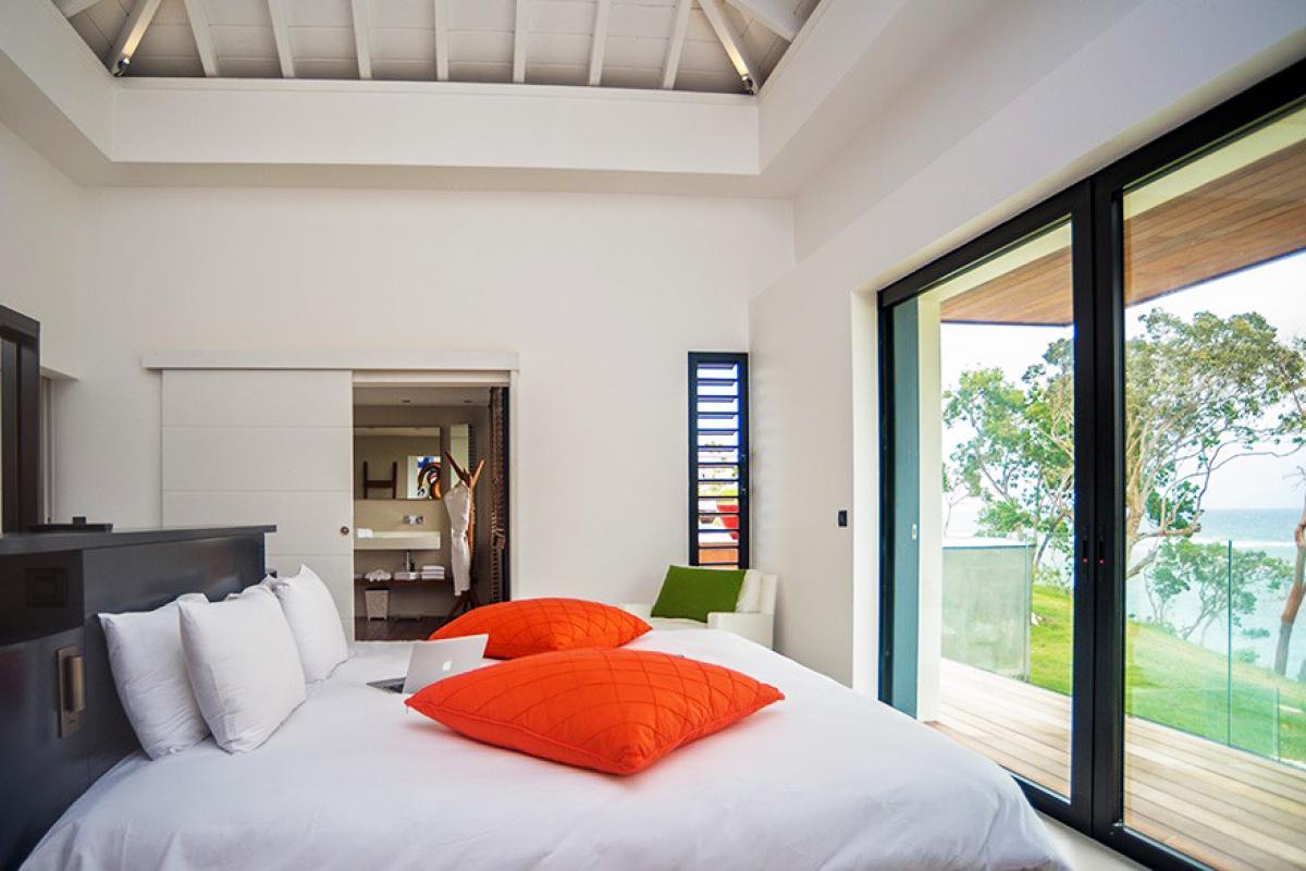 Villa d'exception vue mer 180° - Chambre