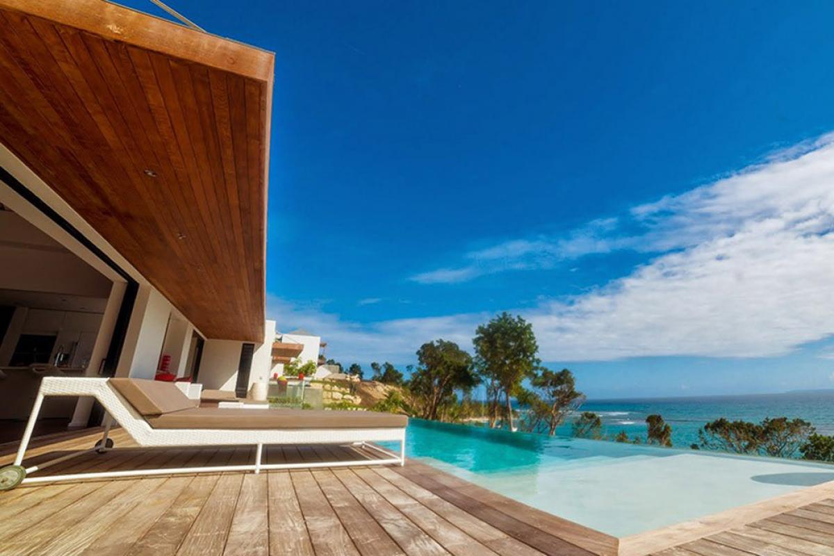 Villa d'exception vue mer 180° - Piscine et mer