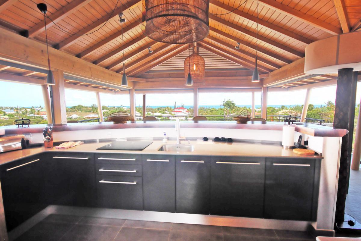 Villa de luxe Saint François Guadeloupe - cuisine 1