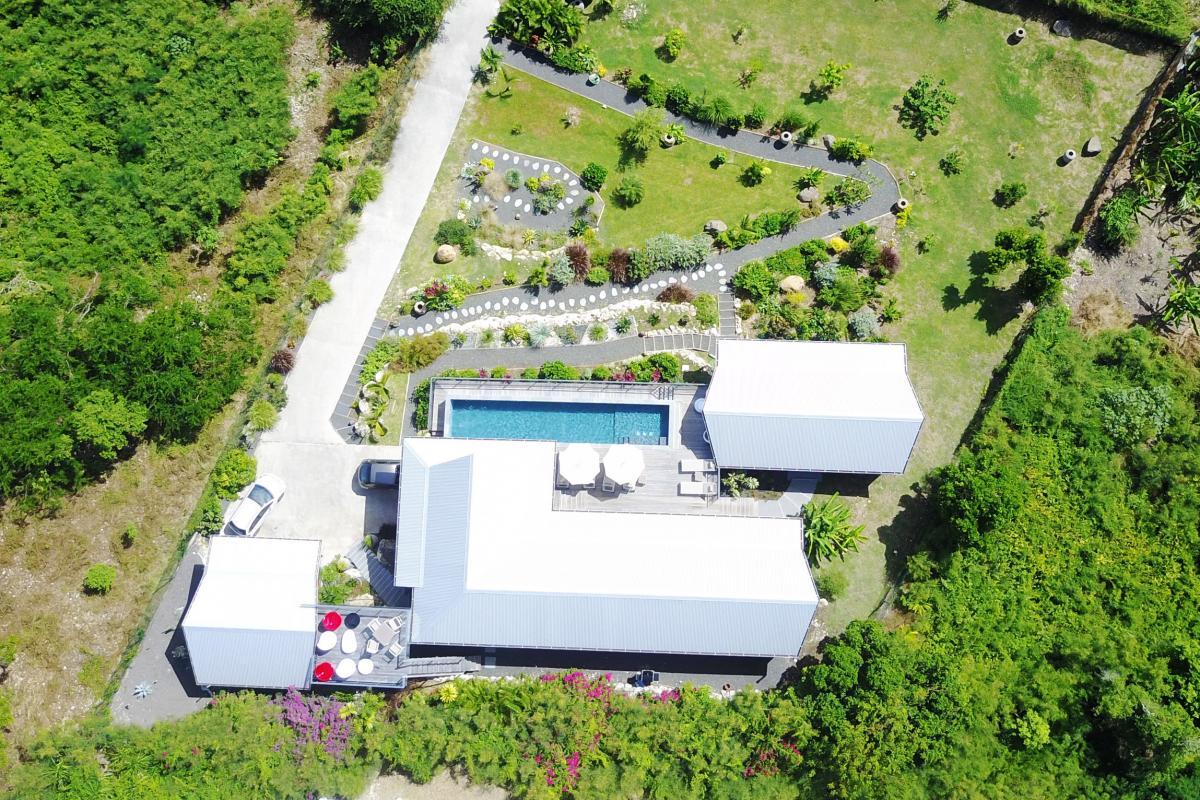 Villa de luxe Saint François Guadeloupe - Vue du ciel