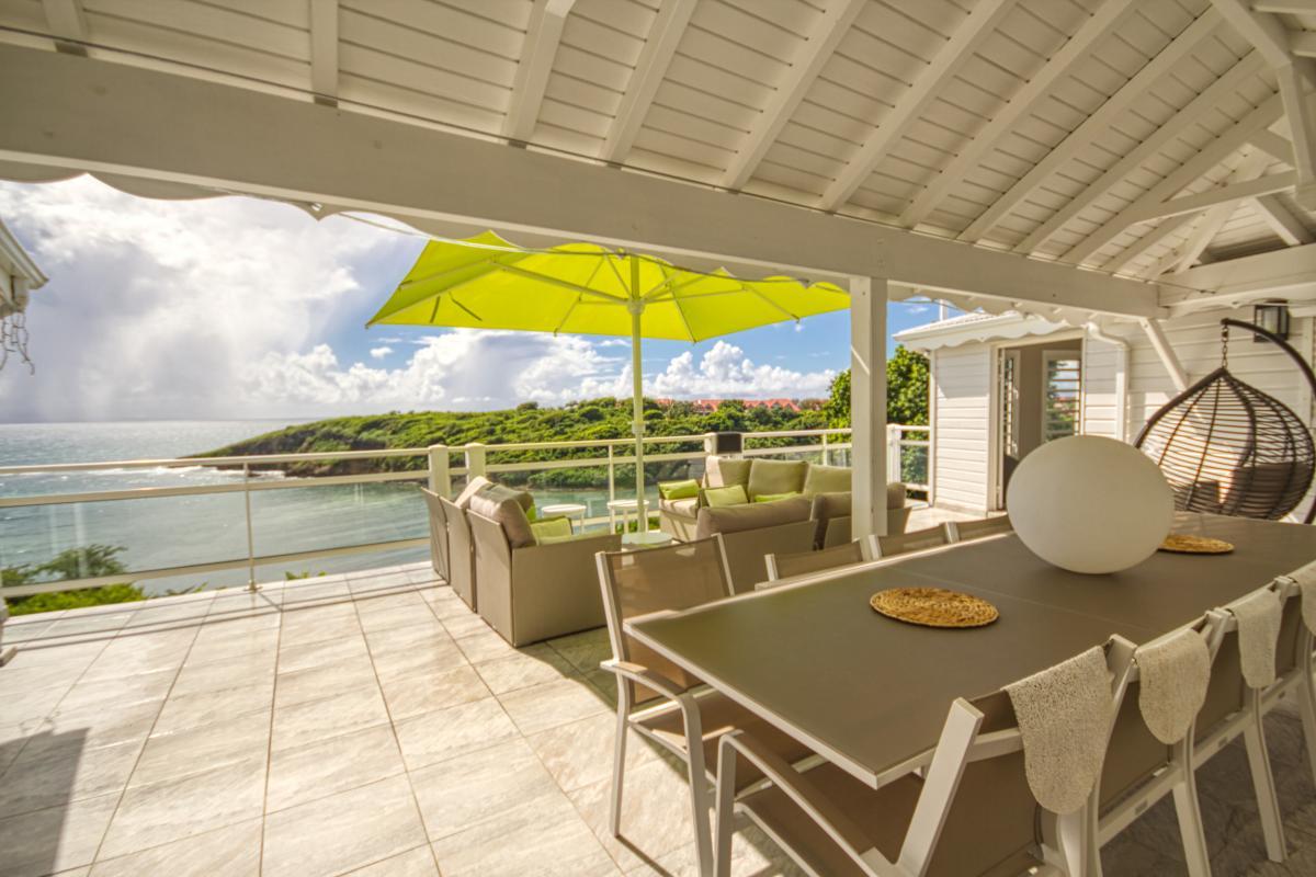 Location villa en Guadeloupe avec vue mer 180° - Vue d'ensemble - St François Guadeloupe