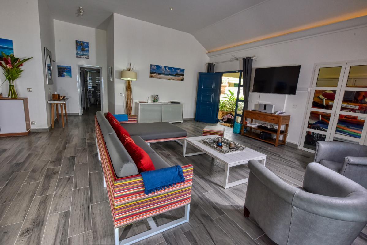Villa luxe Guadeloupe - Séjour