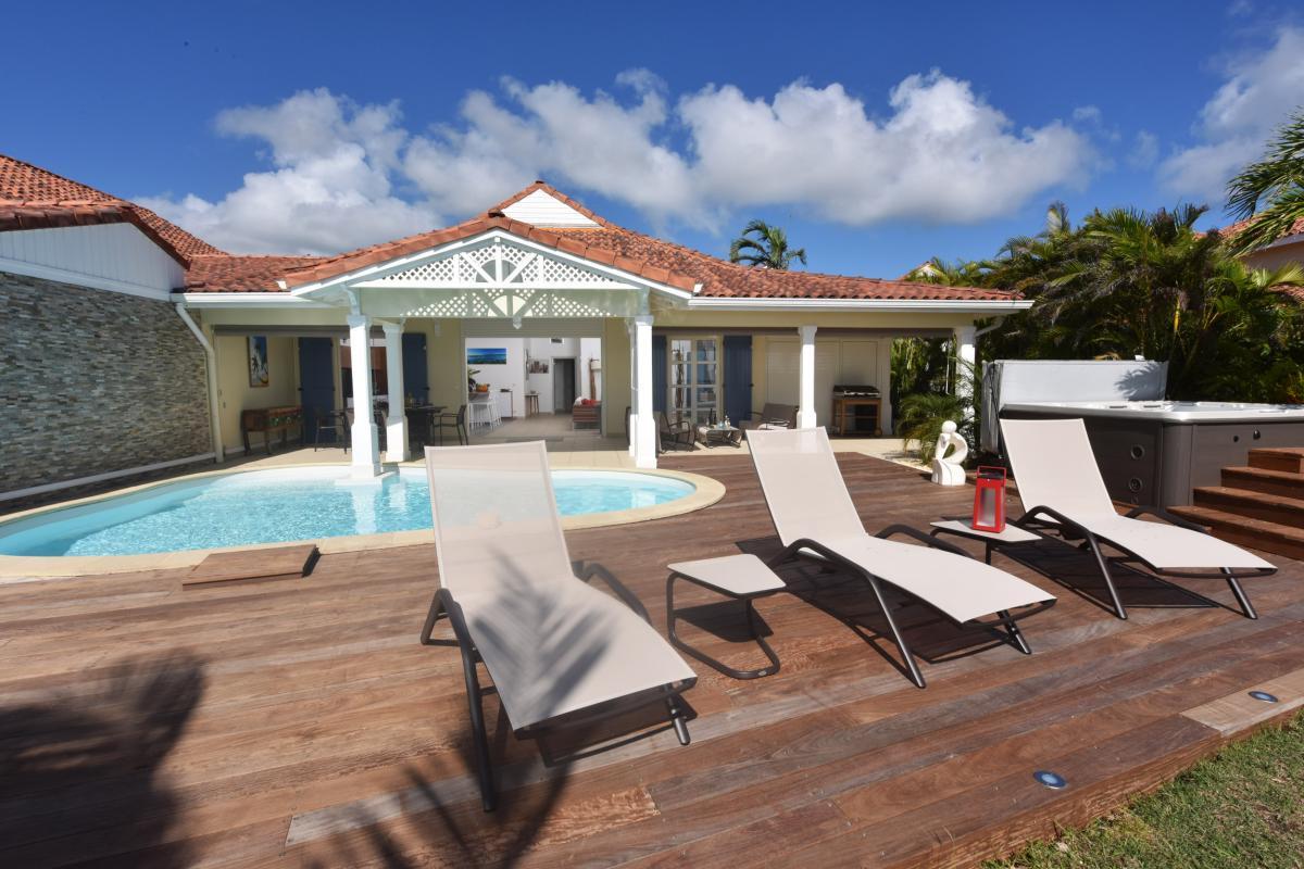 Location villa Guadeloupe - Vue d'ensemble