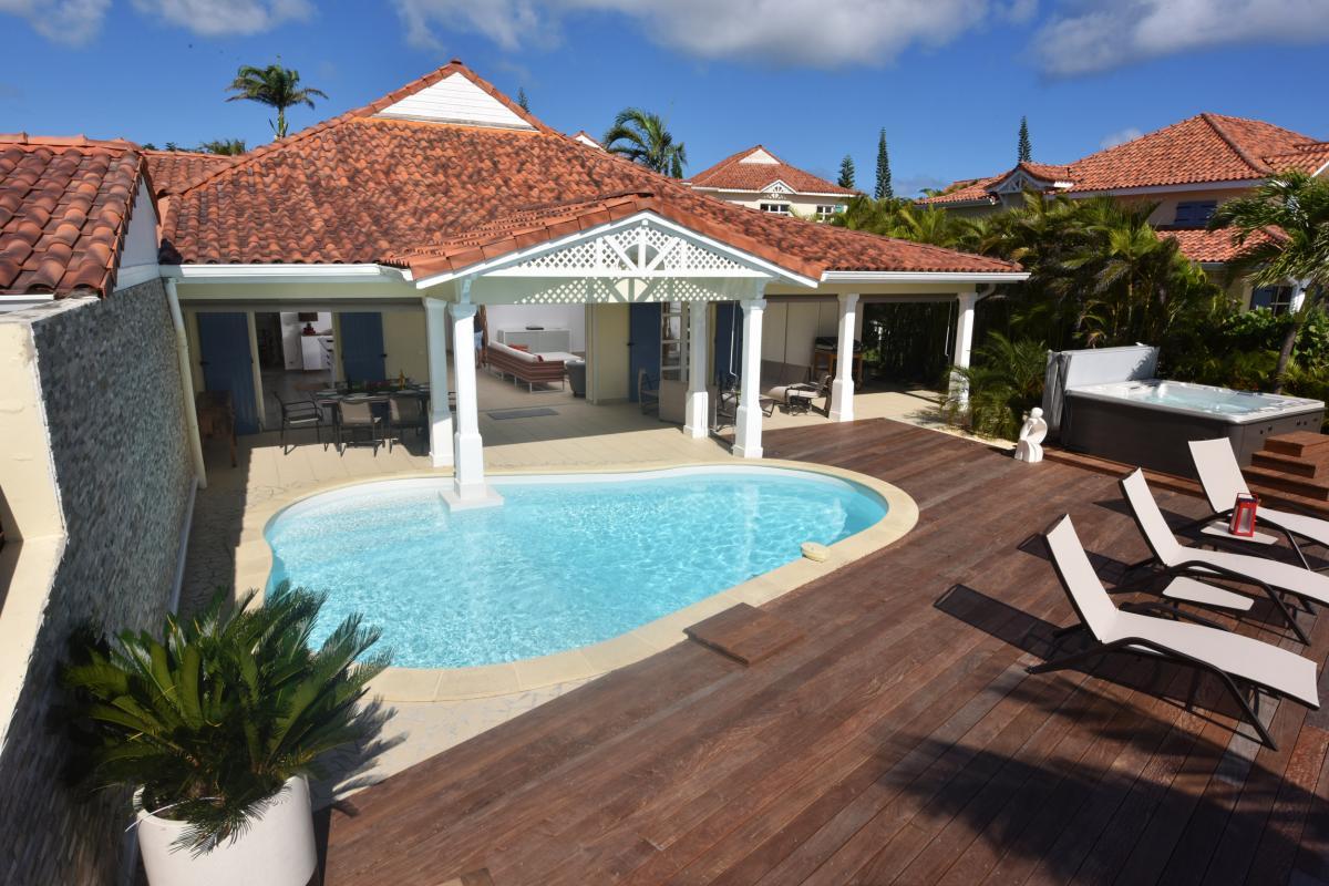 Location villa luxe Guadeloupe - Vue d'ensemble