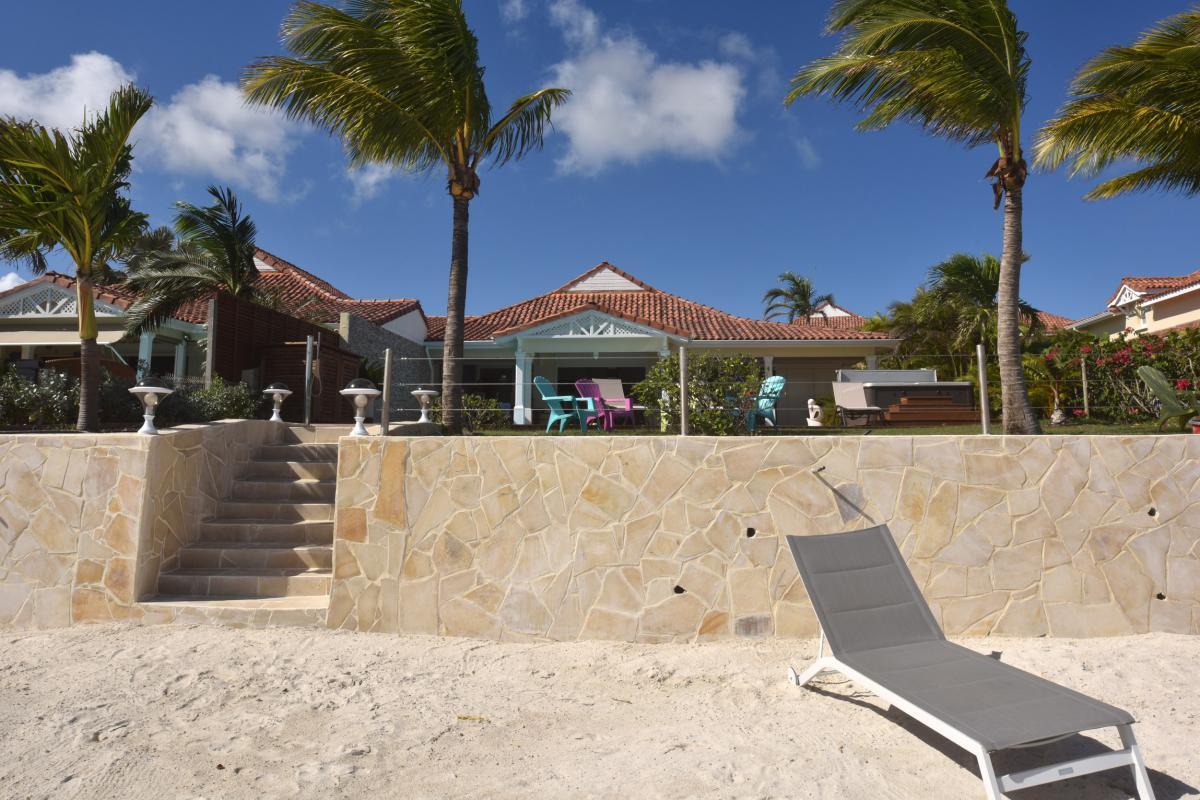 Location villa prestige Guadeloupe - La plage