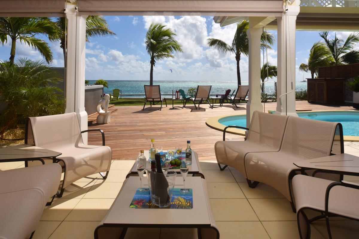 Villa prestige Guadeloupe - La terrasse