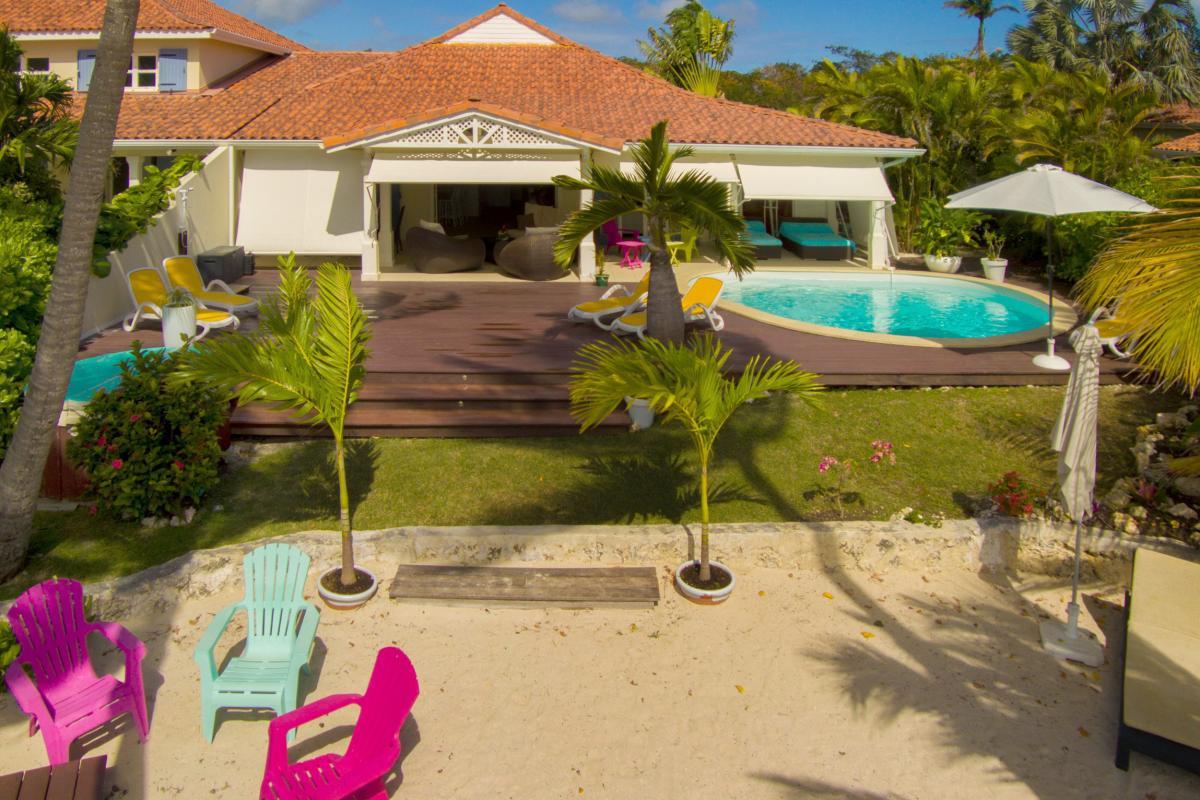 Villa de luxe en Guadeloupe - Vue d'ensemble