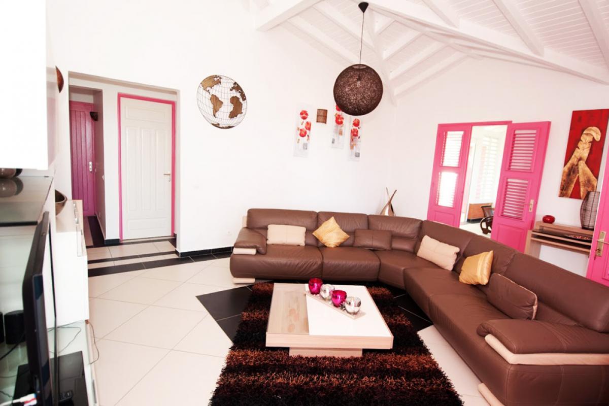 Villa en location avec jacuzzi - Le Salon