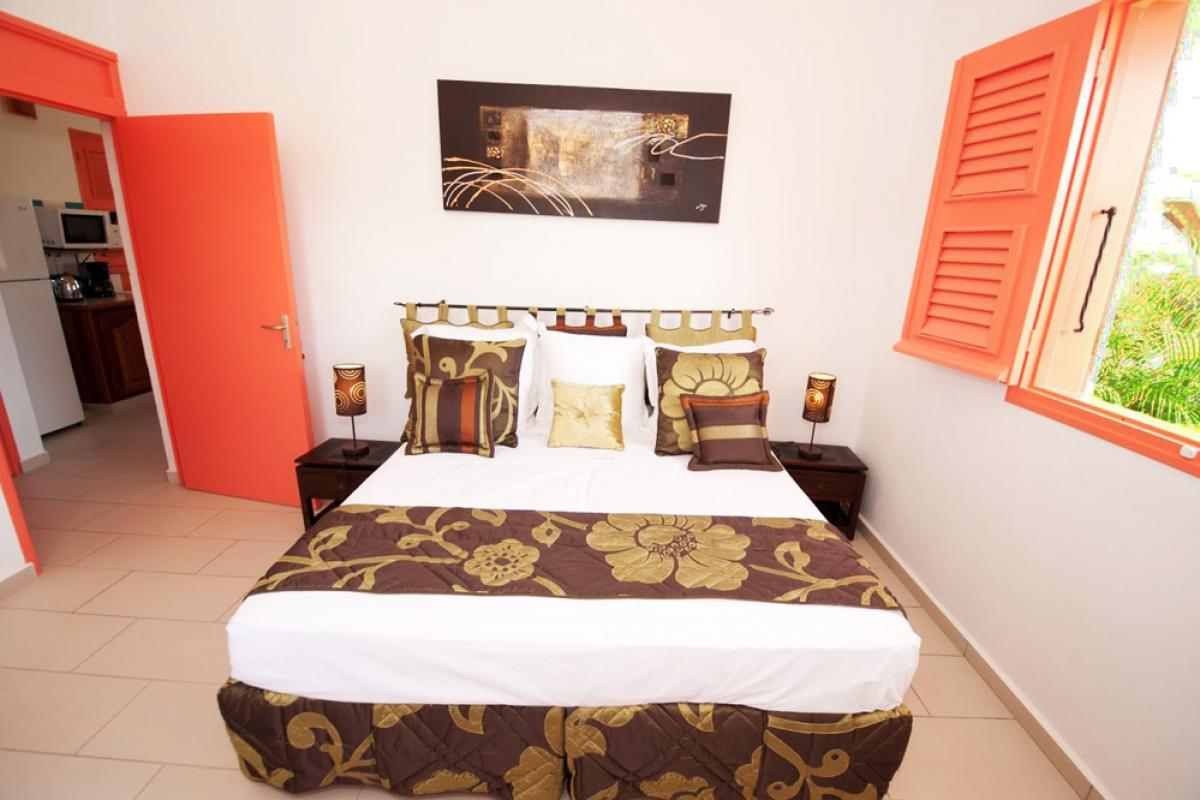 Location villa au charme créole - La chambre