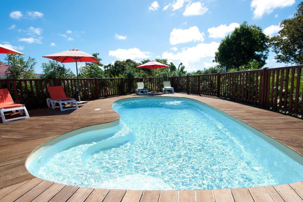 Villa de charme à Marie Galante - La piscine commune