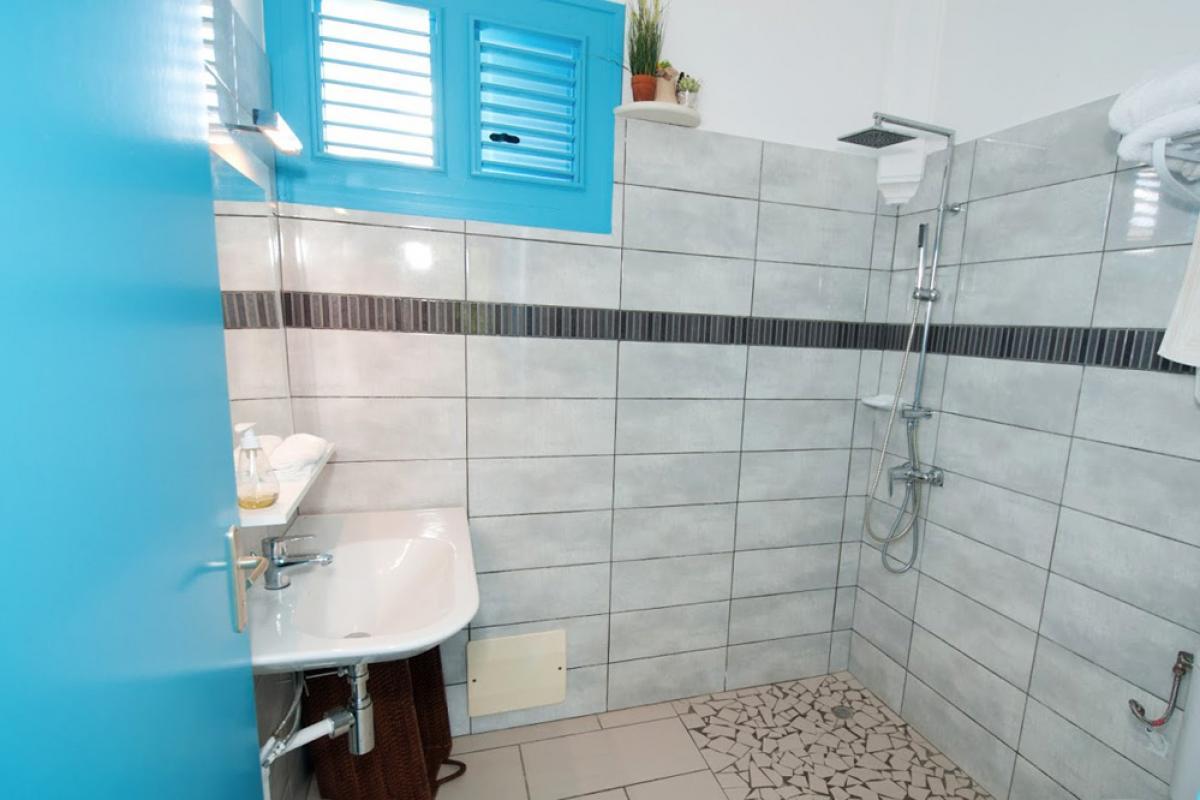 Villa de charme à Marie Galante - La salle de douche