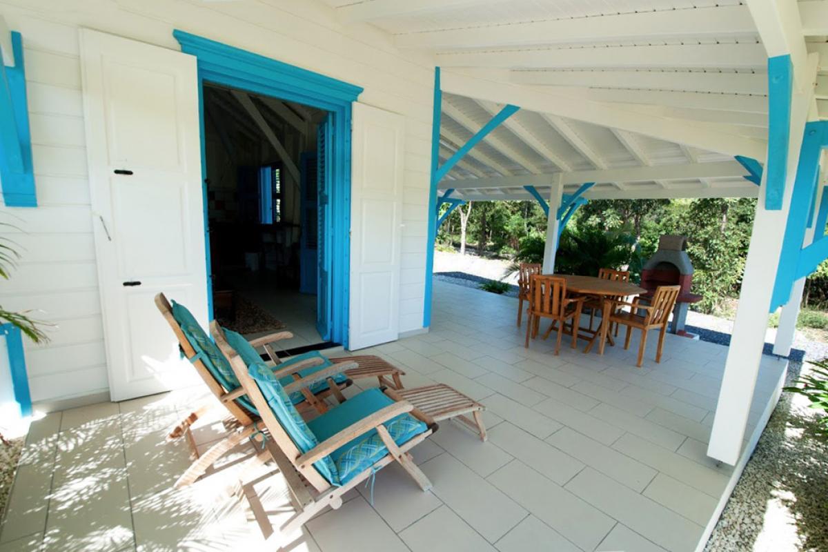 Villa de charme à Marie Galante - La Terrasse