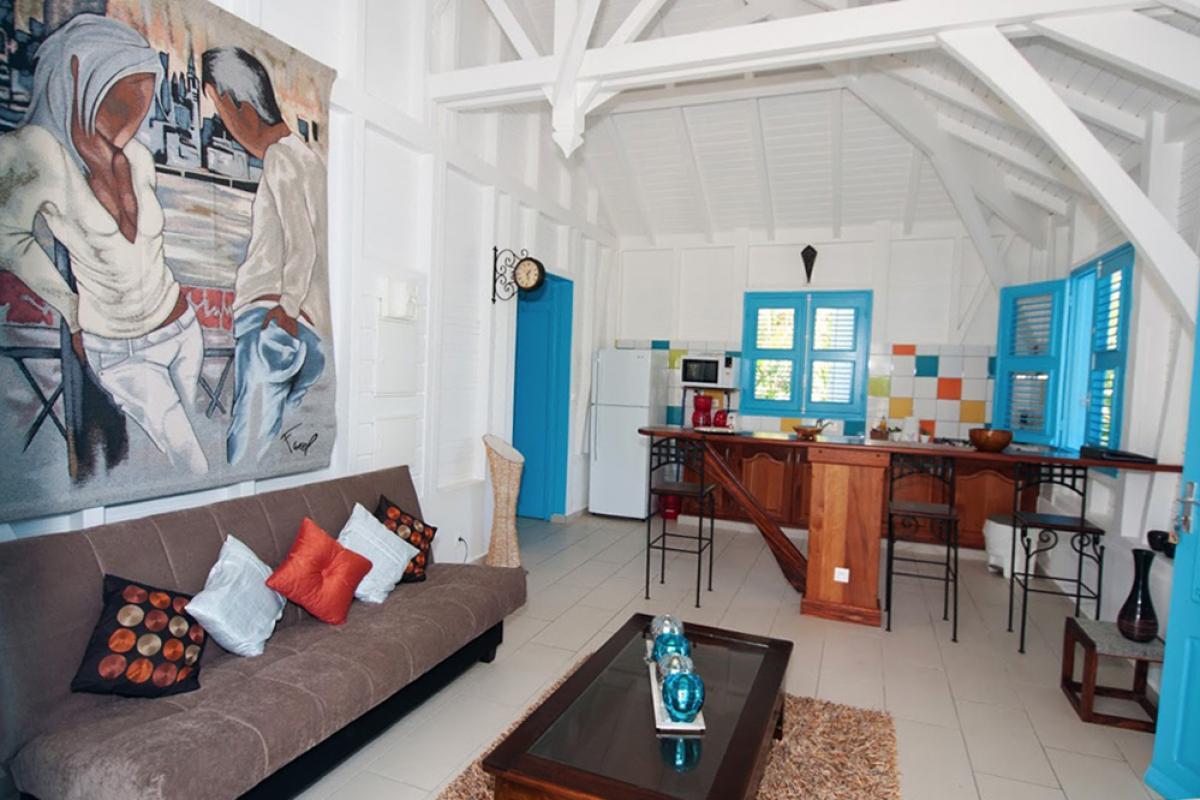 Villa de charme à Marie Galante - Le séjour