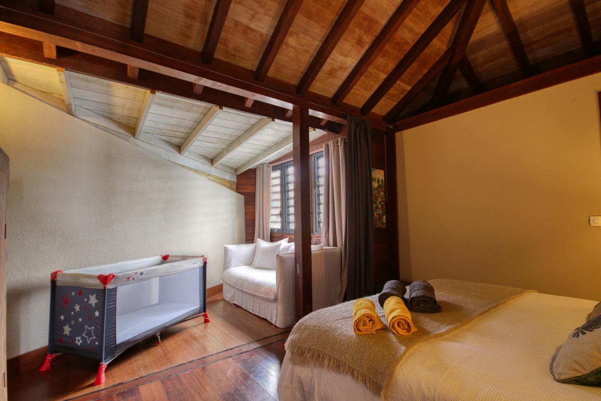 location villa de luxe martinique grande anse vue mer piscine 12 personnes chambre1 bis