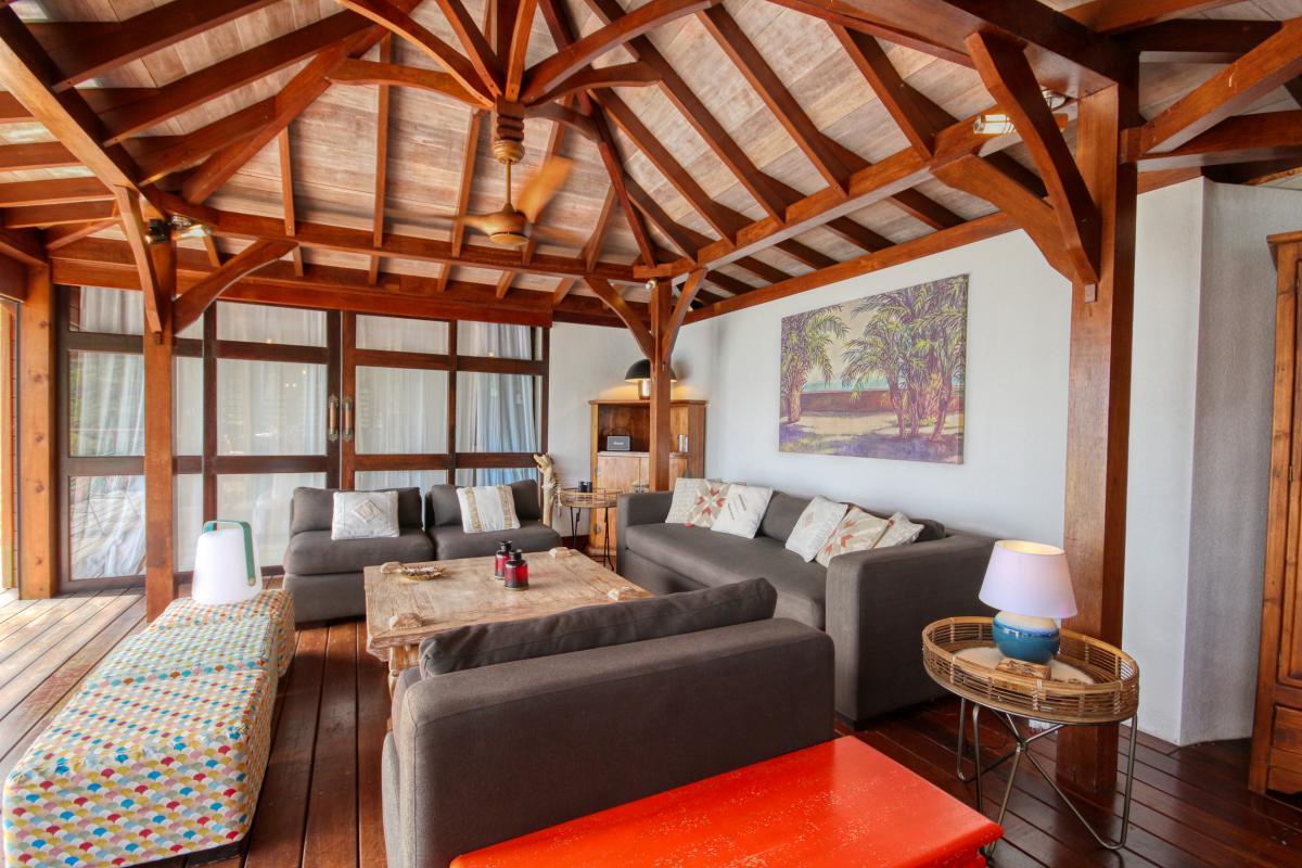 location villa de luxe martinique grande anse vue mer piscine 12 personnes salon2