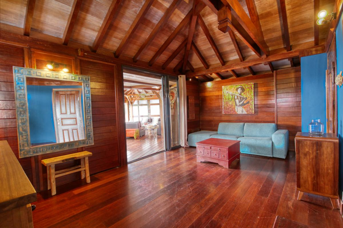 location villa de luxe martinique grande anse vue mer piscine 12 personnes salon4