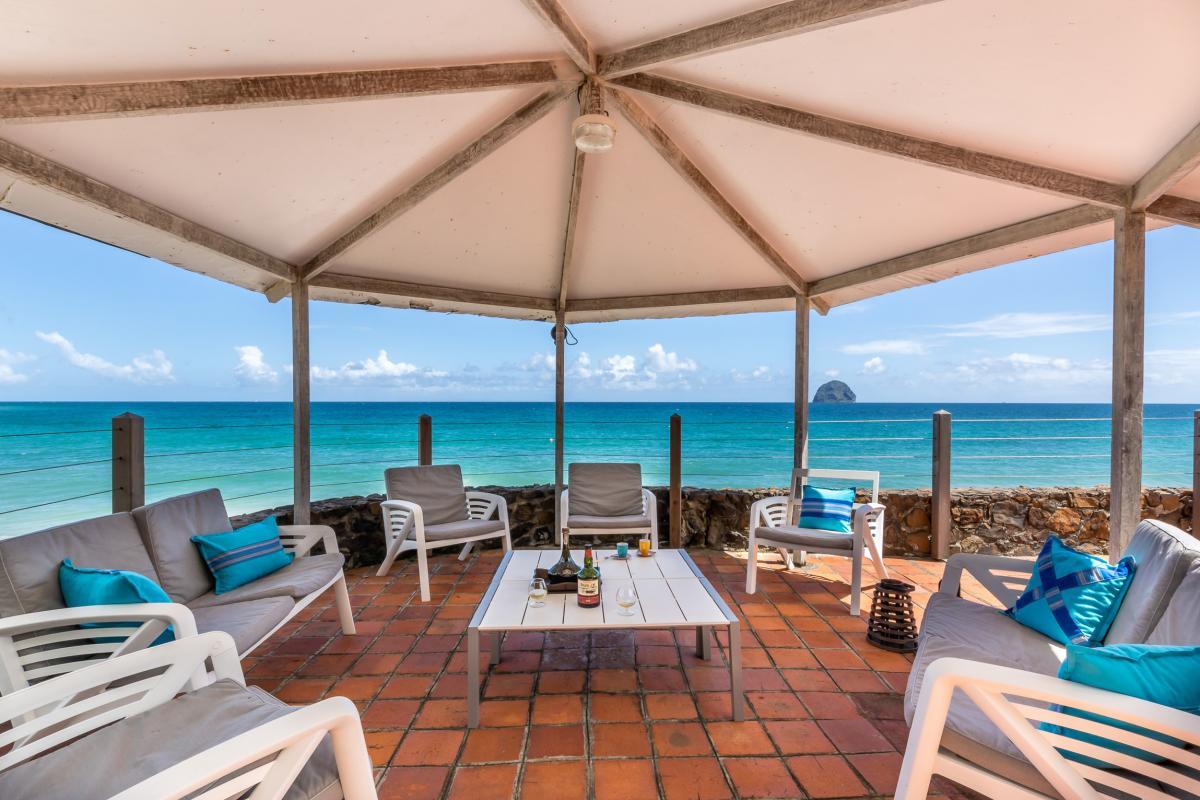 Location Villa de luxe Martinique Carbet au dessus de la plage