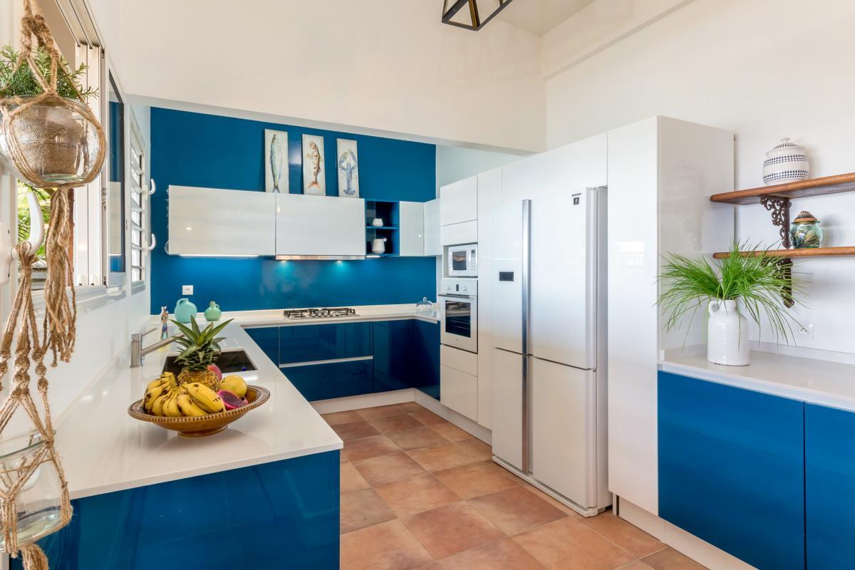 Location villa de luxe Martinique Cuisine équipée