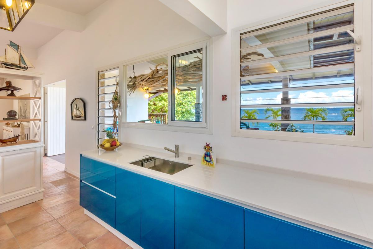 Location Villa de luxe Martinique Cuisine spacieuse