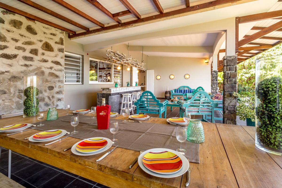 Location Villa de luxe Martinique Espace repas