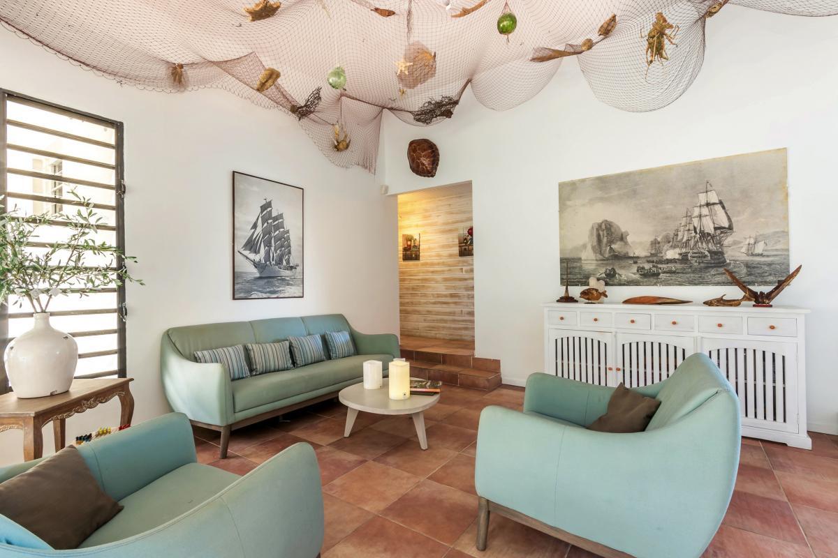Location Villa de luxe Martinique Grand salon