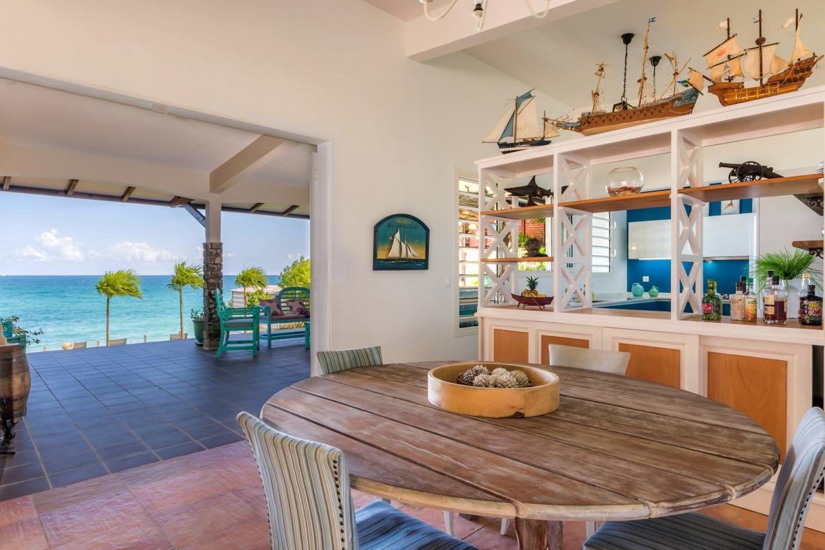 Location Villa de luxe Martinique Grand séjour