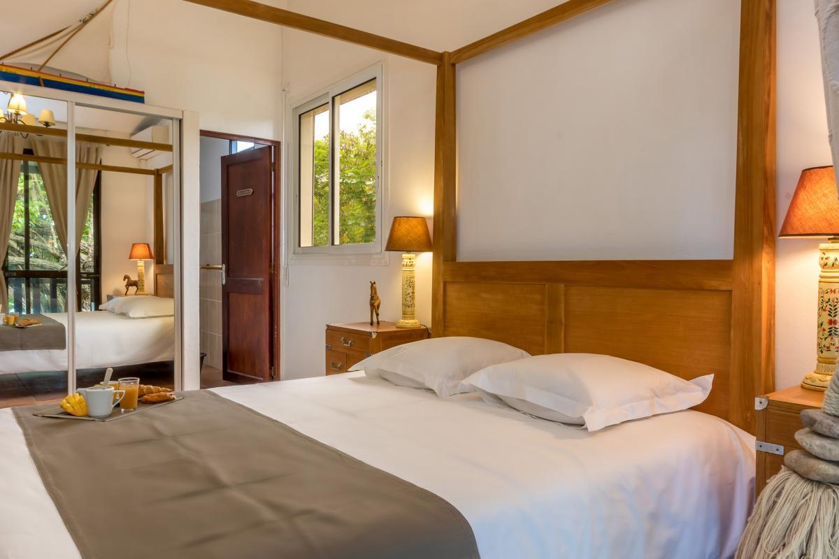 Location Villa de luxe Martinique Grande chambre 1